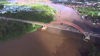 Palangkaraya Indonesia  city photos gallery : Jembatan Kahayan Palangkaraya Indonesia. DJI P3