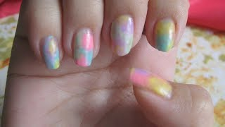 【超簡單-彩色果凍美甲】Color Jelly Nail Art  ♡ SYLVIA EASTER