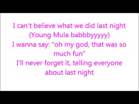 Paris Hilton Ft. Lil' Wayne- Last Night (I Wanna Bang) Lyrics [HD]