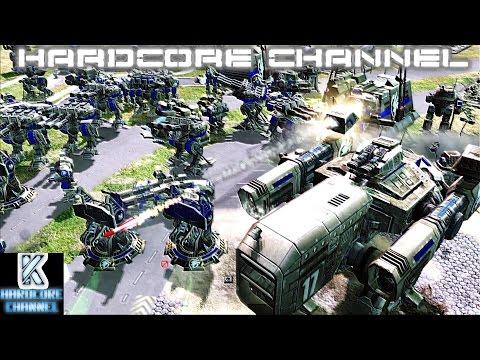 Command & Conquer 3 Tiberium Essence - Skirmish 1v2 - Brutal AI =2= Неравные силы (видео)