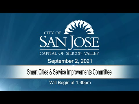 SEP 2 2021 | Smart Cities & Service Improvements