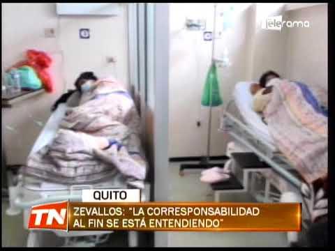 Hospitales de Quito registran leve descongestión de pacientes