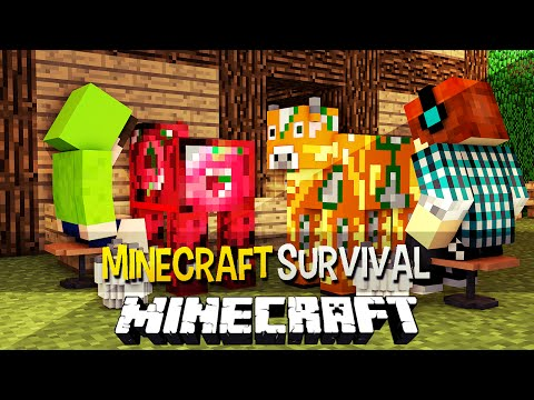 survival - Mais Minecraft Survival Aqui: http://bit.ly/1ocBsPm ✖Twitter: https://twitter.com/AuthenticGames ✖Facebook: http://www.facebook.com/AuthenticGames ✖Instagram...