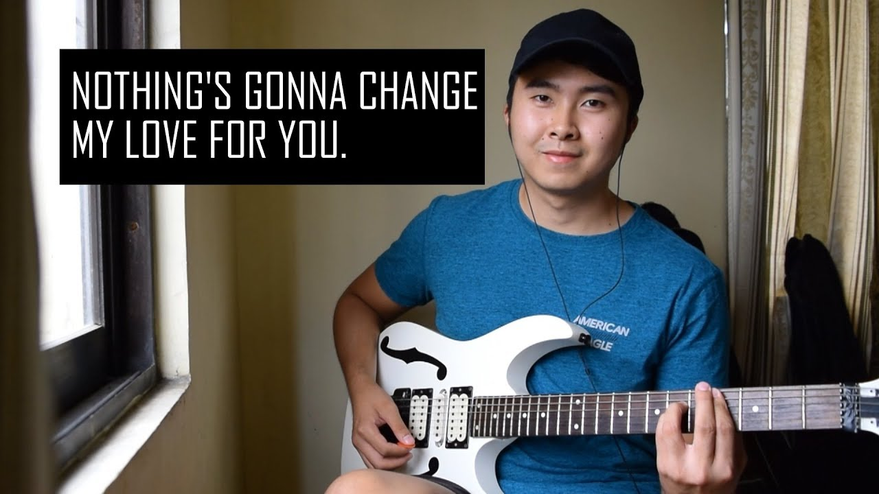Nothing's Gonna Change My Love For You (Electric Guitar Cover by Jorell)