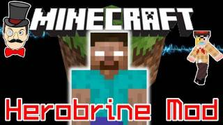 Minecraft HEROBRINE Mod! Sighting! He Lives... and is WATCHING YOU!
