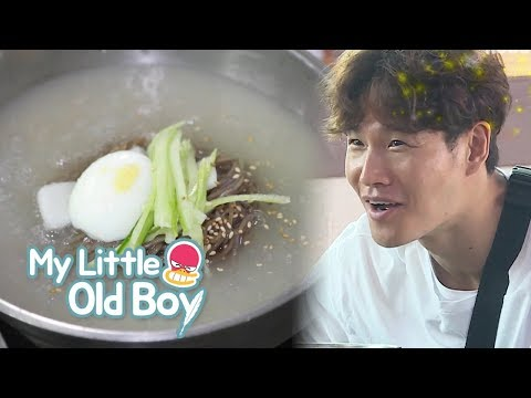 Kim Jong Kook Should Be Called Noodles! [My Little Old Boy Ep 95]