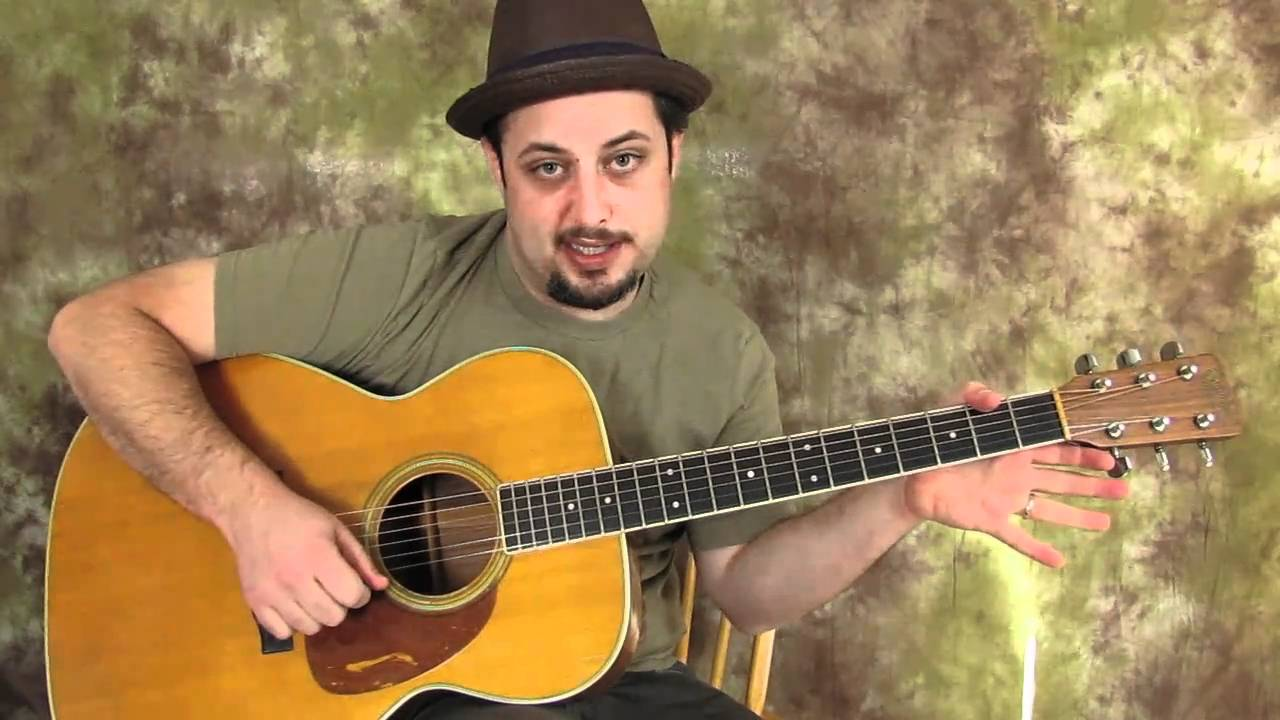 Acoustic Blues Guitar Lessons – Acoustic Blues Lick