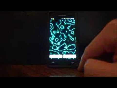 Video of Electric Plasma Live Wallpaper