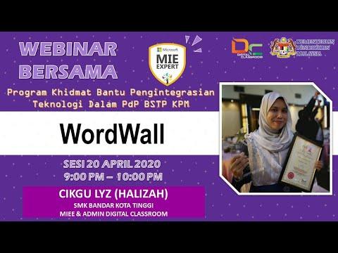 Webinar : WordWall bersama-sama Cikgu Lyz