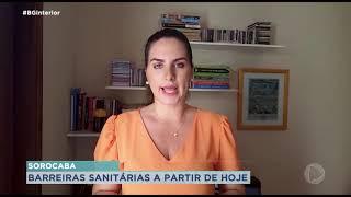 Começa fiscalização por barreiras sanitárias em Sorocaba