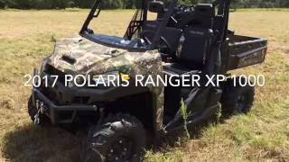 10. 2017 Polaris Ranger XP 1000 First Drive