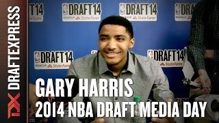 Gary Harris - 2014 NBA Draft Media Day