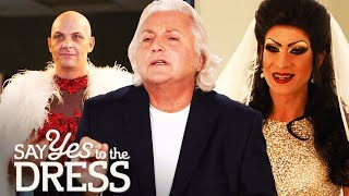 Video 🔴David Emanuel Helps Two Drag  Queens Find the Dress of Their Dreams | Say Yes To The Vegas Dress MP3, 3GP, MP4, WEBM, AVI, FLV September 2018