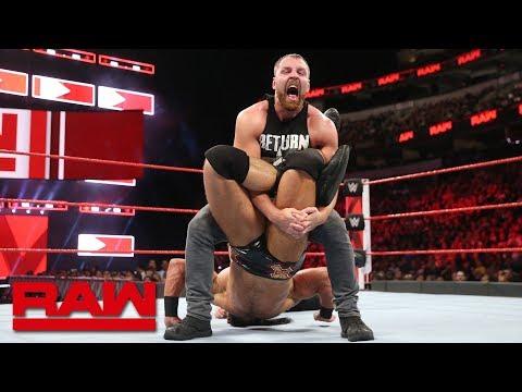 Dean Ambrose vs. Drew McIntyre: Raw, Sept. 17, 2018