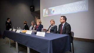 Konferencja prasowa Olgi Boznańskiej