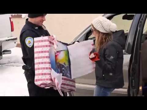 Рождественский полицейский патруль