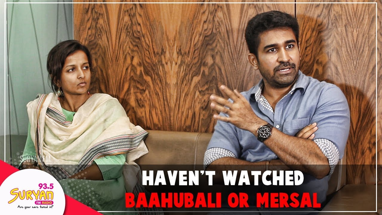 Haven't watched Baahubali or Mersal: Vijay Antony | Kiruthiga Udhayanidhi | Kaali movie
