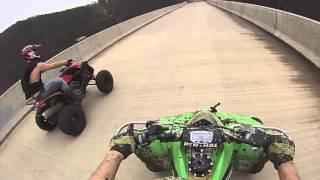 5. Honda Trx 700xx vs Kawasaki Kfx450r Part 1
