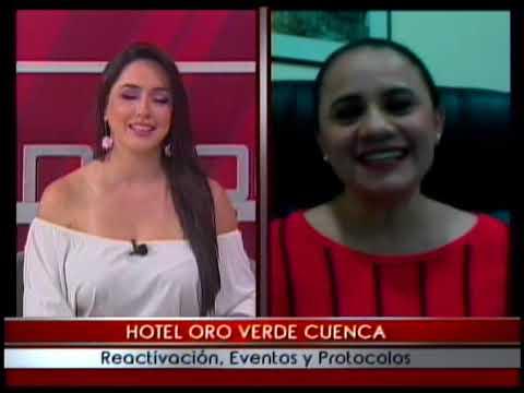 Hotel Oro Verde Cuenca reactivación, eventos y protocolos