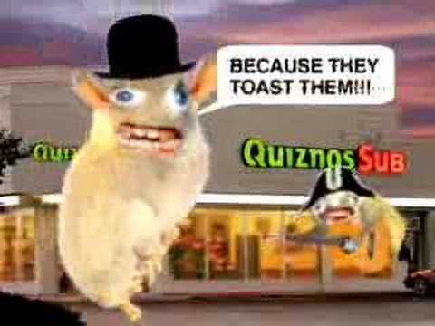 Let's never forget that Quizno's thought this was a good idea...