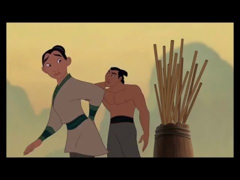 Mulan - Rigtige Mænd / ill make a man out of you HD