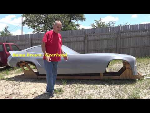 Funny Man's NHRA Funny Car Race Car Retro Project