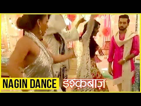 Anika And Shivaay FUN Nagin Dance On Ishqbaaz Set