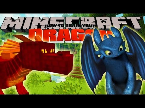 Minecraft – HOW TO TRAIN YOUR DRAGON – Baby Dragons [1]