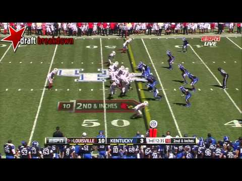 Teddy Bridgewater (QB Louisville) vs Kentucky 2013