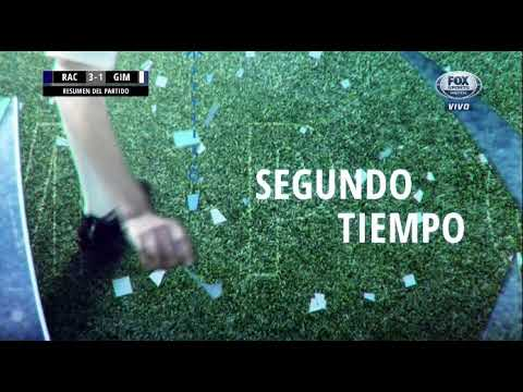 Racing 3-1 Gimnasia LP. Superliga Argentina - Fecha 12