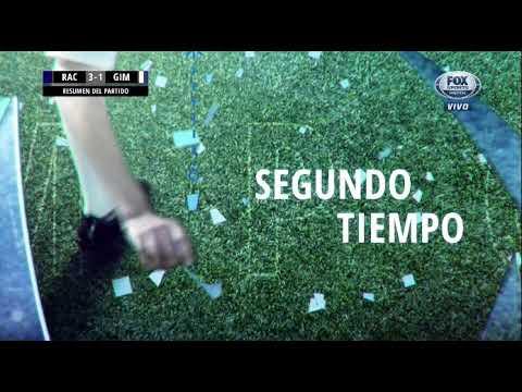 Racing 3-1 Gimnasia LP. Superliga Argentina - Fecha 12