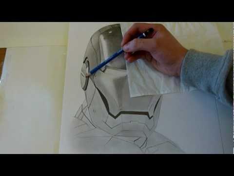 Iron Man - Speed Drawing