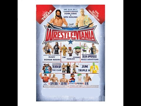SMF WRESTLEMANIA 2016 - BIGGEST EVENT OF THE YEAR