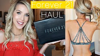 Forever 21 Haul & Try-On | Workout + Summer + Josie Grossie? by Leigh Ann Says