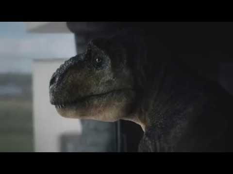 spot commerciale audi: t-rex
