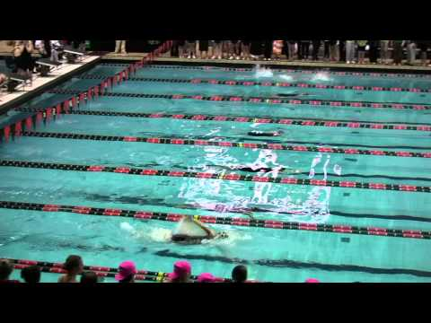 400 Medley Relay Finals 2011 Women's Ivy Champs