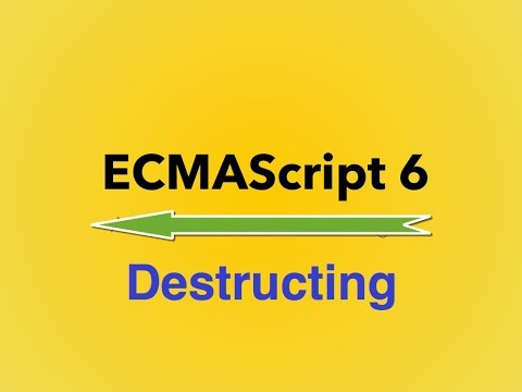 ‪9-  ES6|| Destructing‬‏