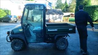 1. Kawasaki 3010 Mule Utility Vehicle - PowercutUK