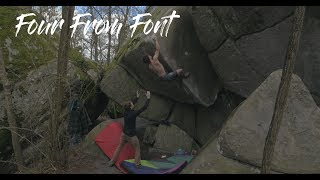Four from font by Dan Turner