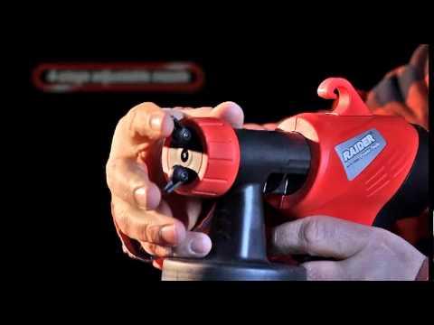 Raider Power Tools - Electric paint spray gun RD SGS-01