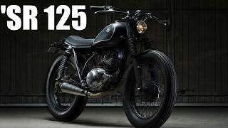 7. Yamaha SR125 CAFE RACER- By CRD - Slideshow [HD]