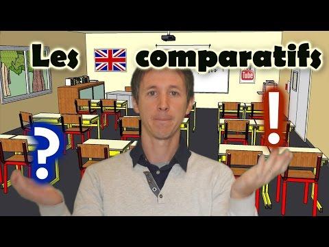 Les comparatifs en anglais