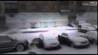 Summer snow in Vorkuta. July 5, 2015