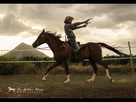 RAMONSTUNT - HORSE COWBOY & GUN SPINNING