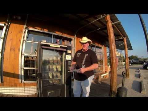 Roadside Americana - Berdoll's Pecan Pie Vending Machine