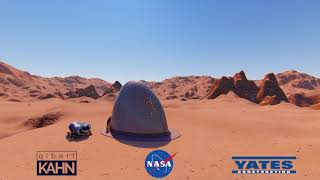 Kahn Yates - Phase 3: Level 1 of NASA's 3D-Printed Habitat Challenge by Marshall Space Flight Center