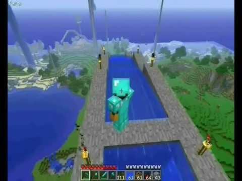 Minecraft - Il più grande e figo scivolo acquatico mai costruito