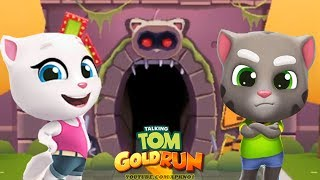 Talking Tom Gold Run Android Gameplay - Talking Tom And Talking Angela Catch the Raccoon Ep 1