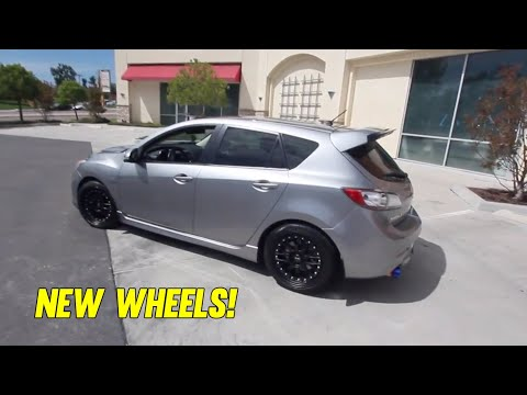 New XXR 521 Wheels! 18x8.5 +35 [Mazdaspeed3]