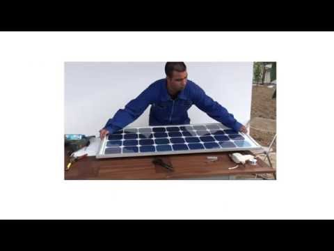 Build cheap easy solar panels at home.